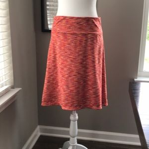 Mondetta Pull-on Multicolored Skirt with Stretch!